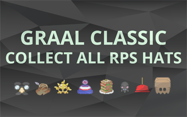 Graal Classic Obtaining RPS and Collecting All RPS Hats