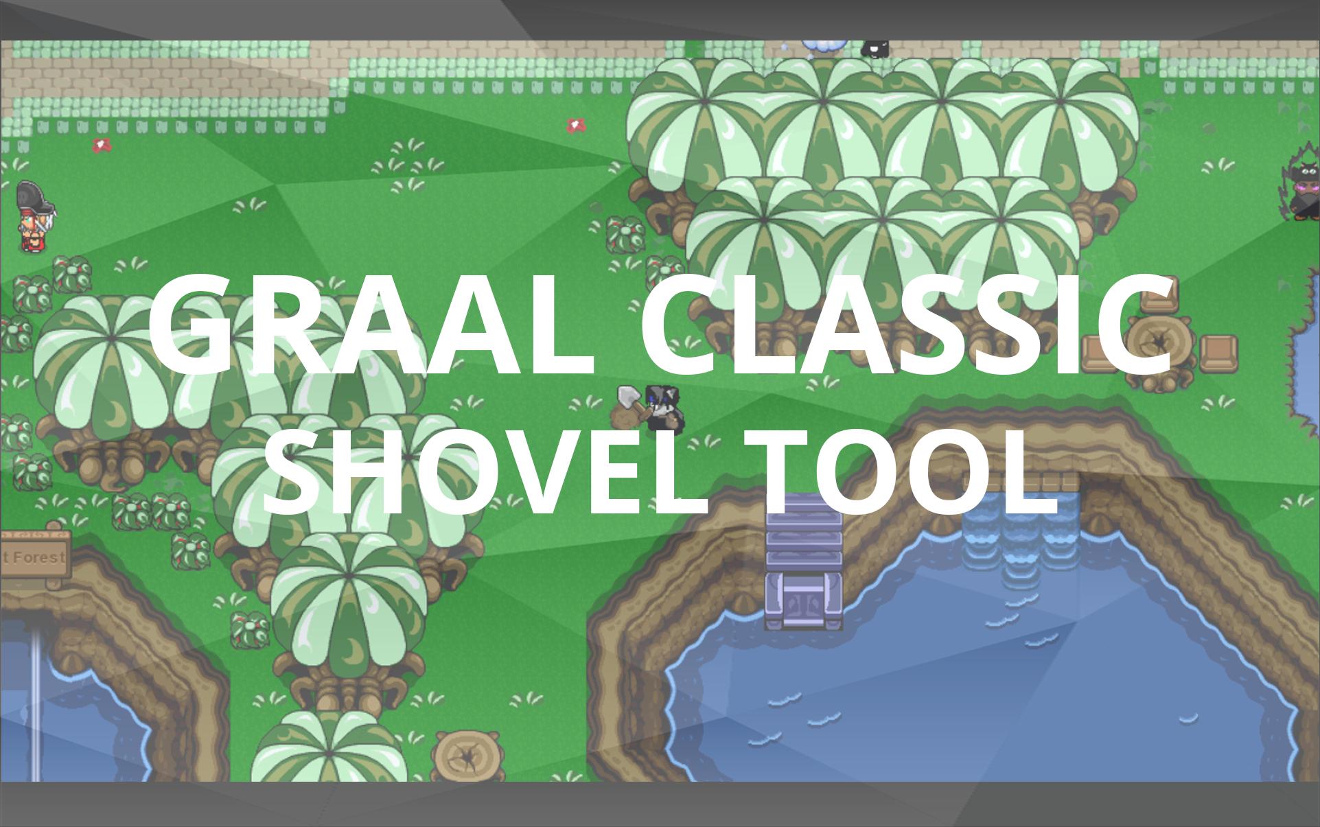 Graal Classic Shovel Tool