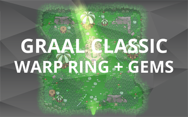 Graal Classic Warp Ring and Gems