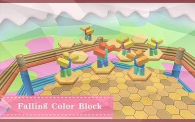 Roblox Games - Falling Color Block