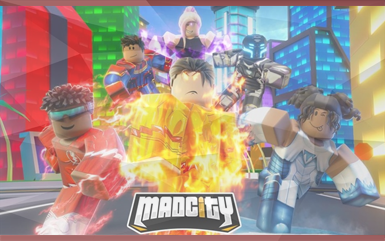 Roblox Games - Mad City
