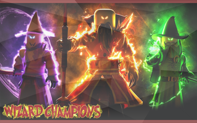 Roblox Games - Wizard Champions