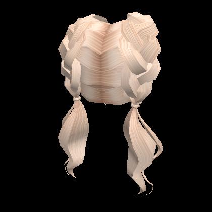 Blonde-Braided-Ponys-Roblox