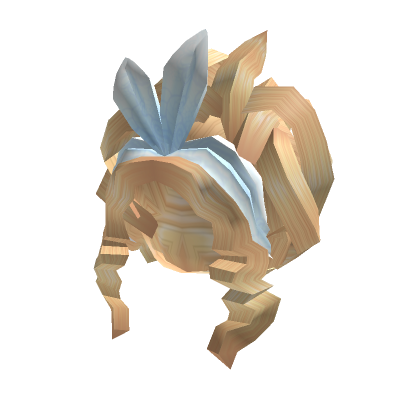 Blonde-Updo-With-White-Headband-Roblox