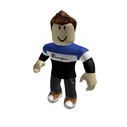 Blue-Champion-Shirt-Slender-Roblox-Avatar