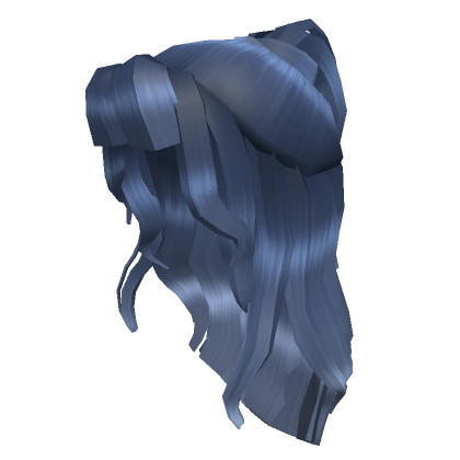 Blue-Halfup-With-Bangs-Roblox