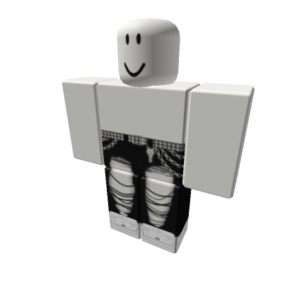 Chained-black jeans-Girls-Roblox
