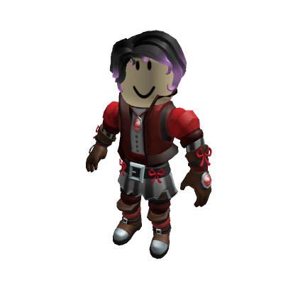 Curled-Up-Bob-In-Fire-Purple-Roblox-Avatar