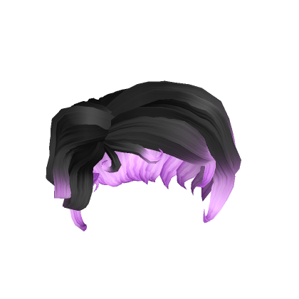 Curled-Up-Bob-In-Fire-Purple-Roblox