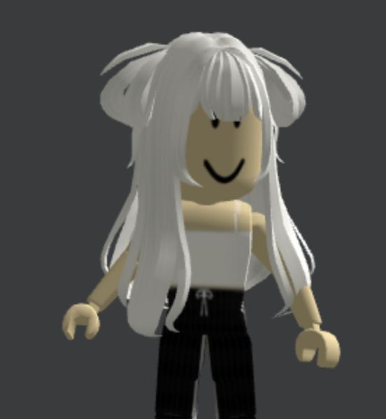 Loose-White-Anime-Side-Buns-Roblox-Avatar