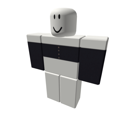 Navy-Blue-Button-Front-Off-Shoulder-Top-Roblox