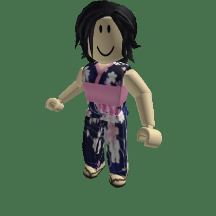 Navy-Coral-Kimono-Roblox-Avatar