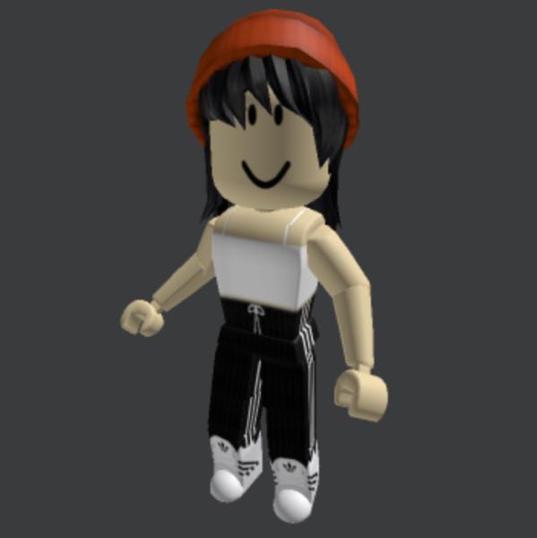 Orange-Beanie-with-Black-Hair-Roblox-Avatar