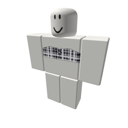 Cute Aesthetic-flannel-tube-top-Roblox