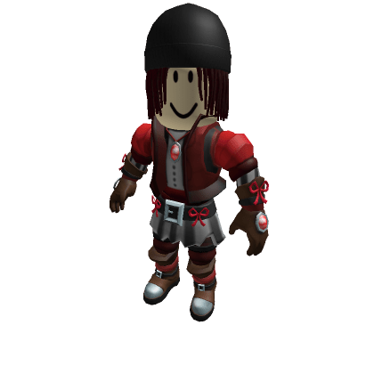Red-Dreads-With-Beanie-Roblox-Avatar
