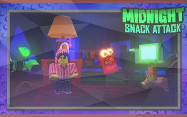 Roblox Games - Midnight Snack Attack