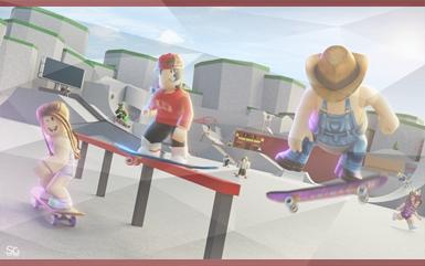 Roblox Games - Skate Park