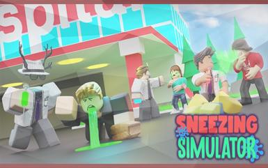 Roblox Games - Sneezing Simulator