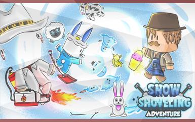 Roblox Games - Snow Shoveling Adventure