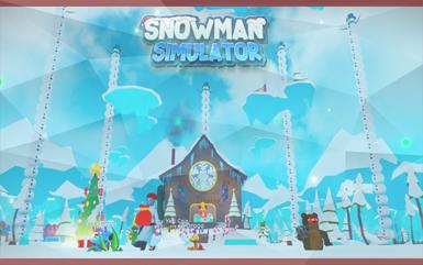 Roblox Games - Snowman Simulator