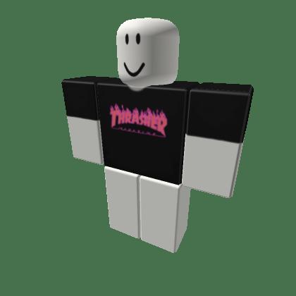 Thrasher-Pink-Flame-Black-Roblox