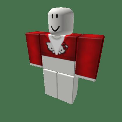 hello-kitty-red-shirt-Roblox