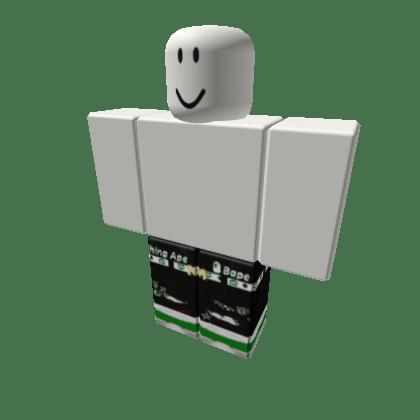 Black-Balmains-w-Green-White-Belt-Green-Afs-Roblox