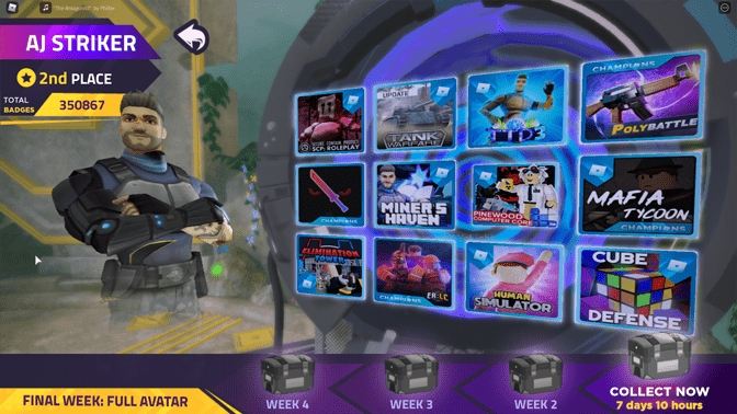 Roblox Metaverse Champions - Aj Striker Week One Secret Package