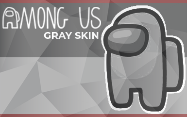 Among Us – New Gray Color Skin (June 2021)