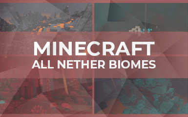 Minecraft: All Nether Biomes