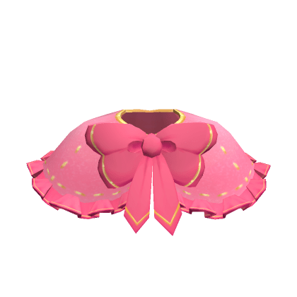 Soft-Pink-Holiday-Coat-with-Hot-Pink-and-Gold-Trim-Roblox