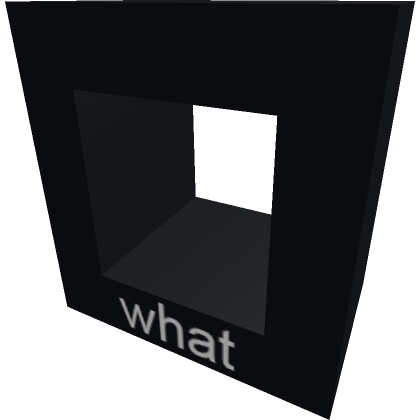 WHAT-Roblox