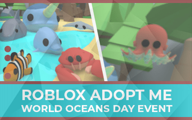 Roblox Adopt Me Worlds Ocean Day Event