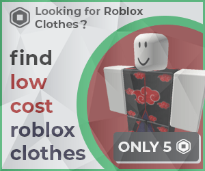 Roblox Clothing Ad 2