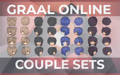 Graal Online – Couple Head and Body Sets