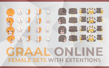 Graal Online – Female Sets with Extensions