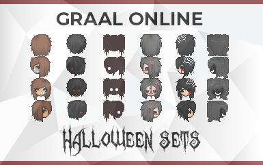 Graal Online - Halloween Heads and Bodies