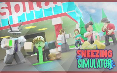 Roblox Game - Sneezing Simulator Promo Codes