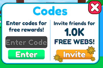 roblox-be-a-spider-tycoon-codes