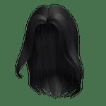 California Girl Black Hair Roblox Hair ID