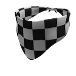 Checker Bandana Roblox id code