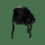 Elegant Loose Side Bun Roblox Hair