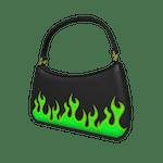 Flame Purse Green Roblox