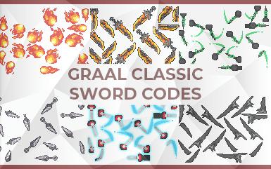 Graal Online Classic Sword Codes (Trending 2021)