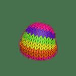 Rainbow Knit Beanie roblox