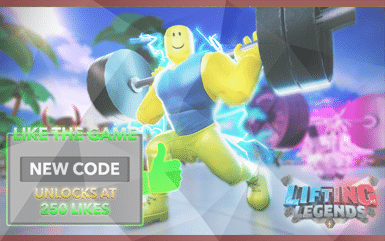 Roblox Game - Lifting Legends Promo Codes