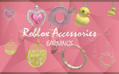 Roblox Game - Roblox Accessories Earings