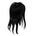 Stylish Summer Side Part Roblox Hair