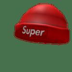 Super Beanie Red Roblox