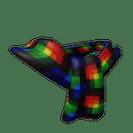 Technicolour Folded Over Scarf Roblox